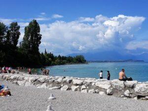 """義大利威尼斯 Desenzano del Garda 代森扎諾‧德爾‧加爾達 必玩 - Spiaggia """"Desenzanino"""" 代森扎諾海灘"""