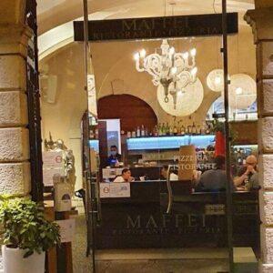 義大利威尼斯 里瓦∙德爾∙加爾達 Riva del Garda 必吃 - Ristorante Pizzeria Maffei