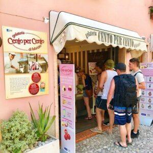 義大利威尼斯 馬爾切西內 Malcesine 必吃 - Gelateria Cento per Cento