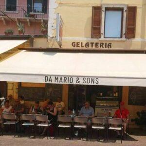 義大利威尼斯 馬爾切西內 Malcesine 必吃 - Da Mario & Sons Pizzeria Bar Gelateria